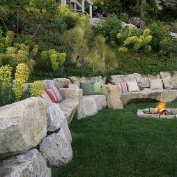 Residential Steep Slope Landscaping   Residential Steep Slope Landscaping Design,