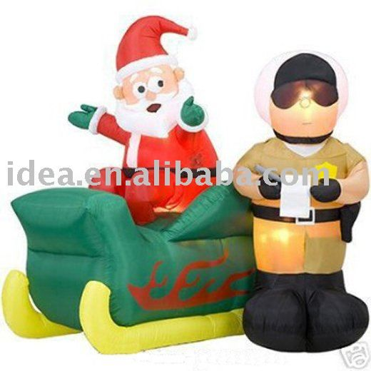 Inflatable Santa Ticket Police - Buy Inflatable Santa,Christmas ...