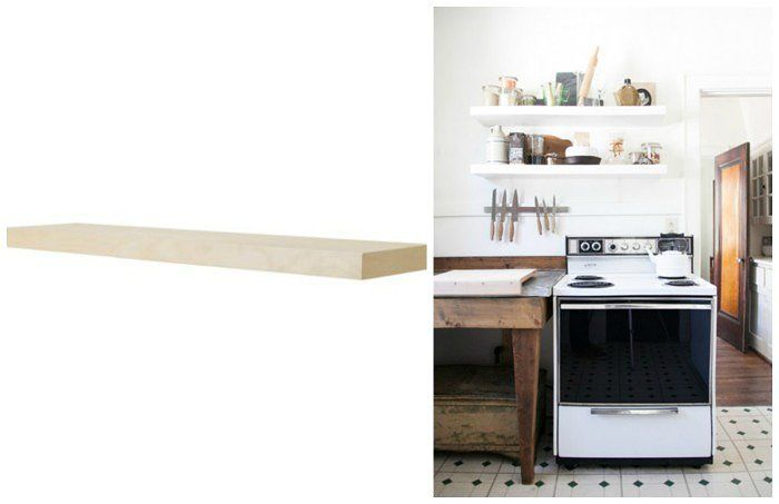 10 Must-Have Farmhouse Products to Buy at IKEA Ikea wall shelves