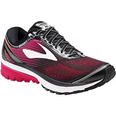 aa3164571d9 Brooks Ghost 10 Running Shoes - Womens Black Pink