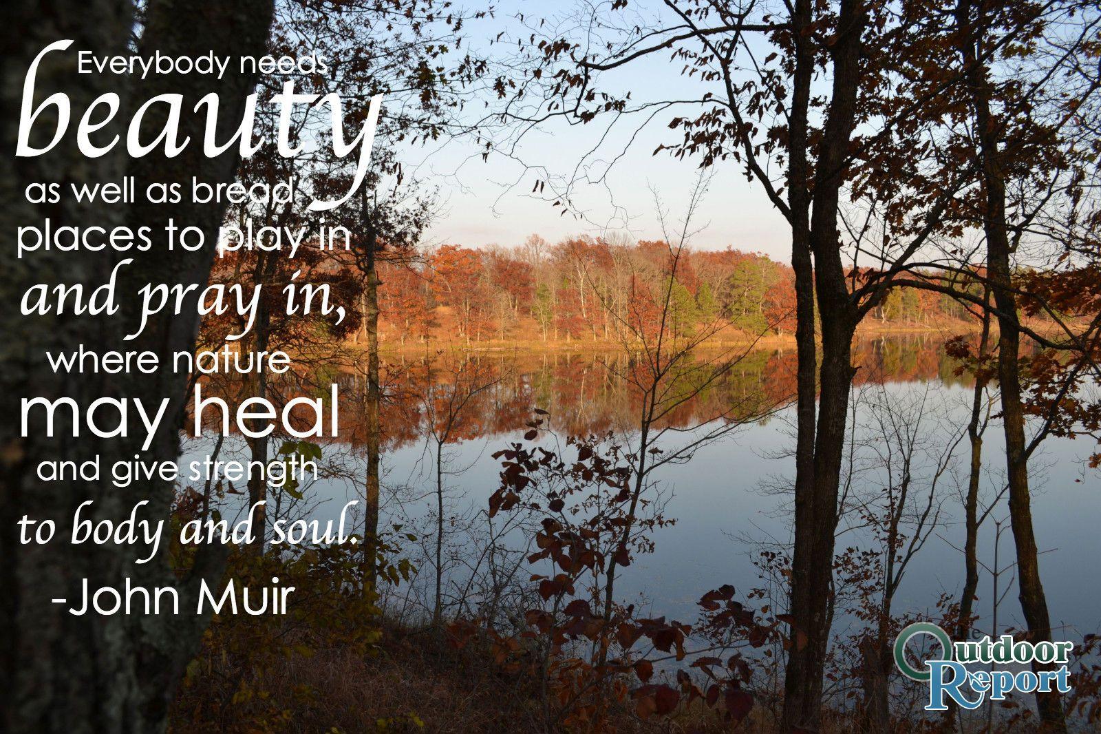 Attrayant John Muir Nature Quote