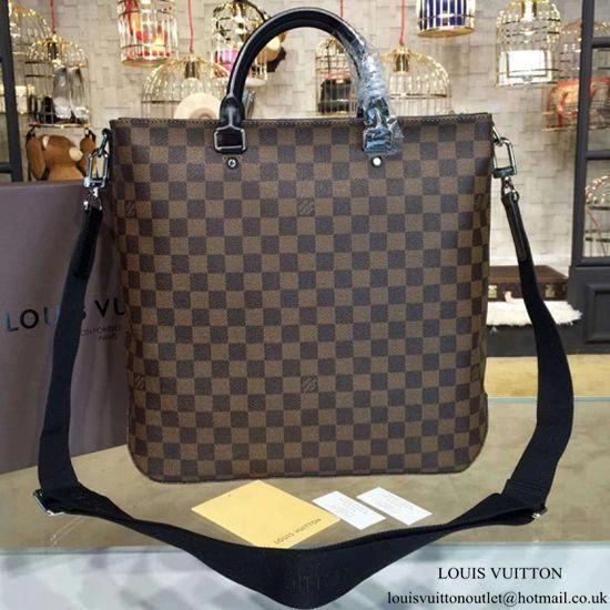 Louis Vuitton N41559 Jack Tote Briefcase Damier Ebene Canvas   Louisvuittonhandbags 51199fe7189f4