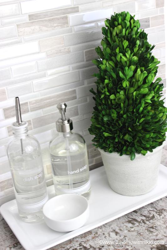 Athomewithnikki Com Kitchen Sink Decor Best Kitchen Sinks Kitchen Soap Dispenser