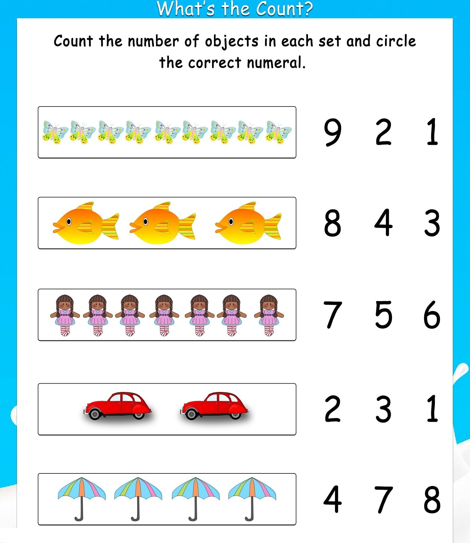 Grade 1 Math Worksheets Printable: Free Printable 1st Grade Math Worksheets