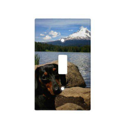 Mt Hood Light Switch Cover Zazzle Com Light Switch Covers Light Switch Cool Pets