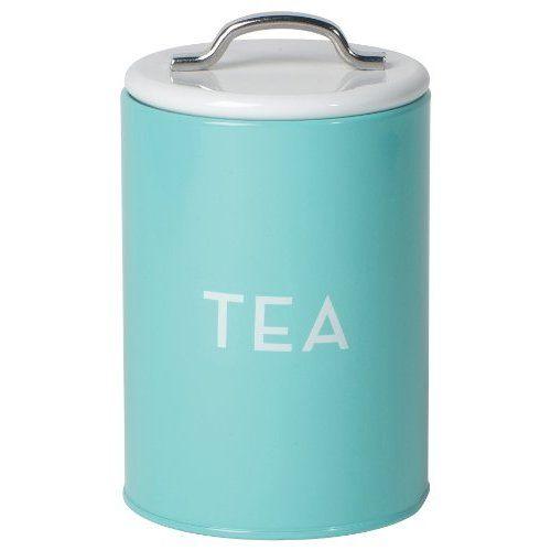 Amazon Com Now Designs Tea Tin Turquoise Home Kitchen Tea Tins Teal Kitchen Turquoise