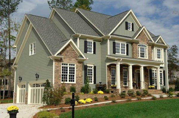 best exterior house colors lighthouseshoppecom - Exterior House Color Schemes