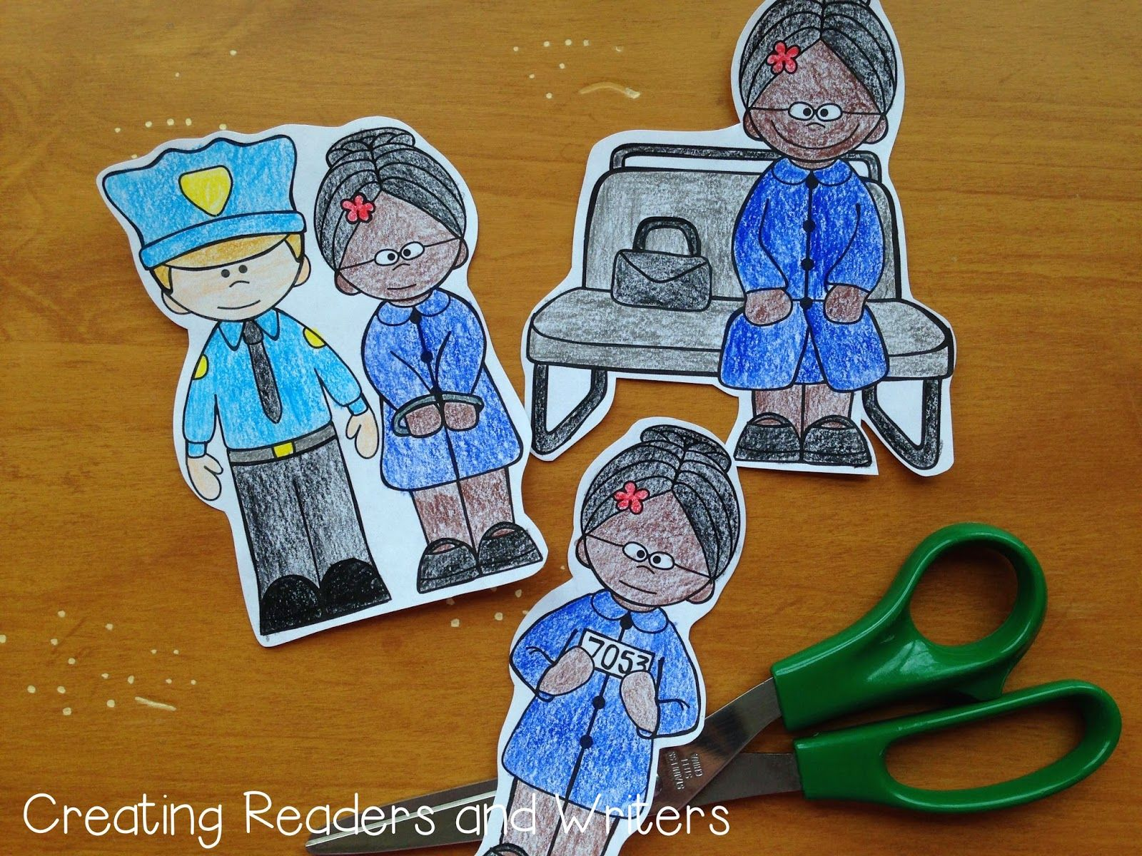 Rosa Parks First Grade Activities