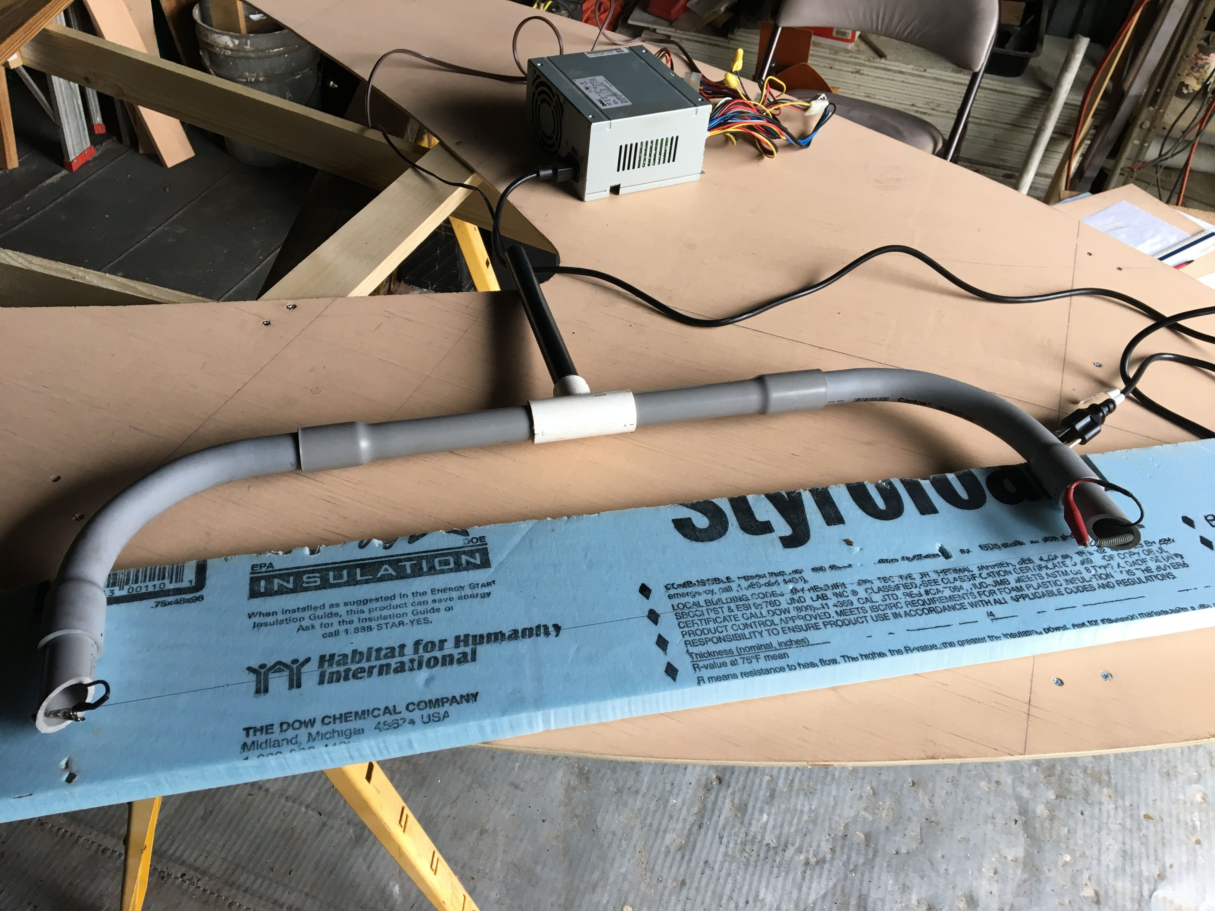 Hot Wire foam cutter built - as well as my cutting templates to ...