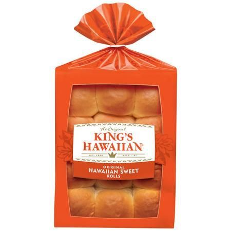 King's Hawaiian Rolls, Original Hawaiian Sweet Dinner Rolls, 12 Count Pack - Walmart.com - #dinner #hawaiian #original #rolls #sweet - #ArrozConLeche