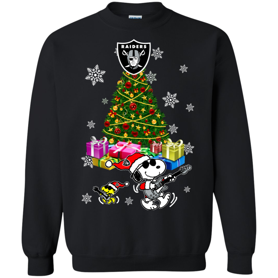 6bb82fcb5ec Oakland Raiders Ugly Christmas Sweaters Merry Christmas Snoopy Hoodies  Sweatshirts