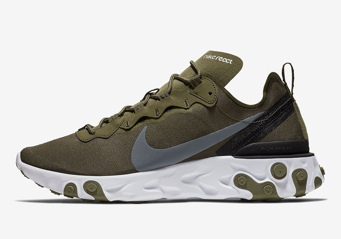 e1fa3f694e3 The Nike React Element 55 Is Coming Soon In Olive