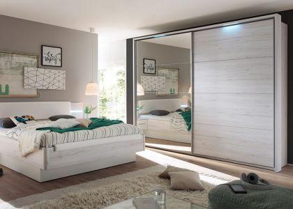Schlafzimmer Swarovski ~ Wellemöbel chiraz doppelbett polsterbett kunstleder blau mit