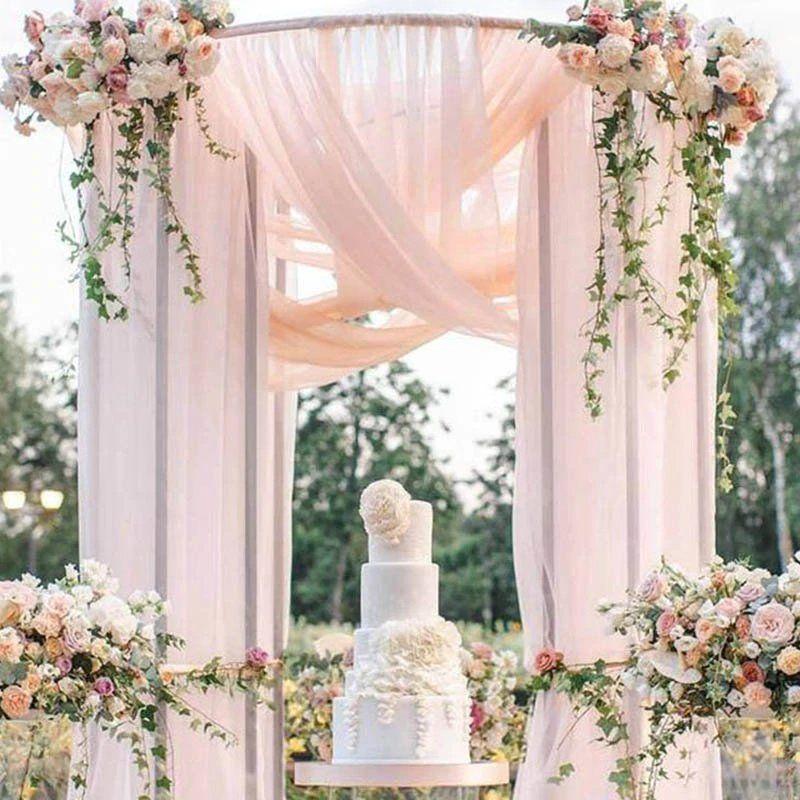 Stylish Wedding Ceremony Decor: Glamorous Wedding Inspiration