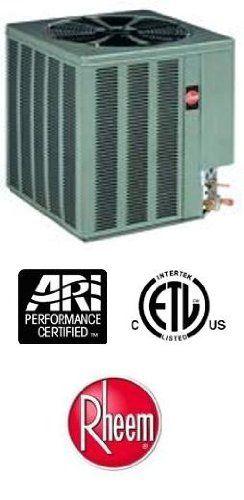 3 Ton 13 Seer Rheem Air Conditioner R 22 13aja36a01 1159 Heating And Air Conditioning Efficient Heating Air