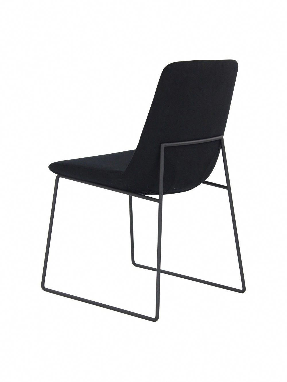 Set of Two Clark Dining Chair, Black - $220 #buychair