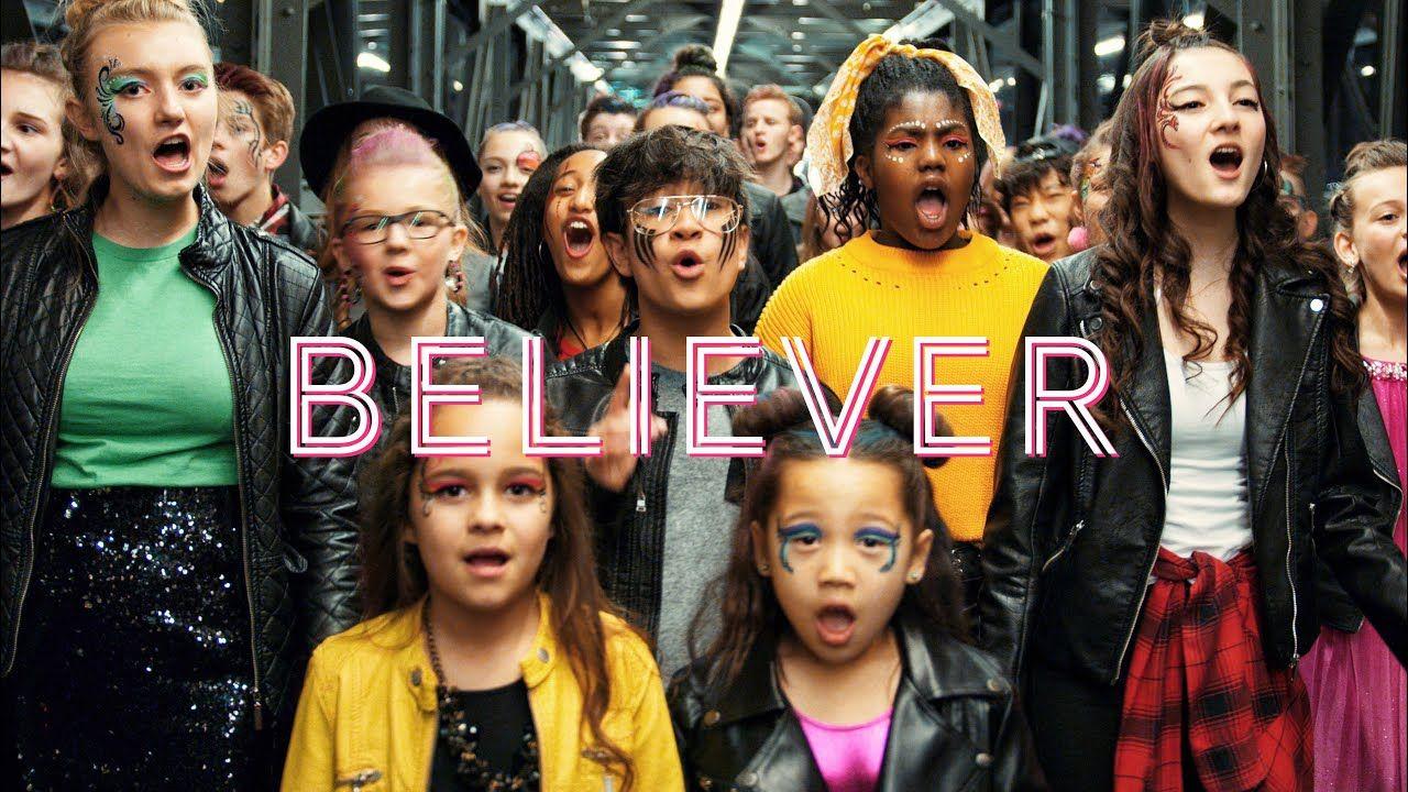 Imagine Dragons Believer Thunder By One Voice Children S Choir Imaginedragons Youtube Music One Vo Imagine Dragons Imagine Dragons Songs Choir