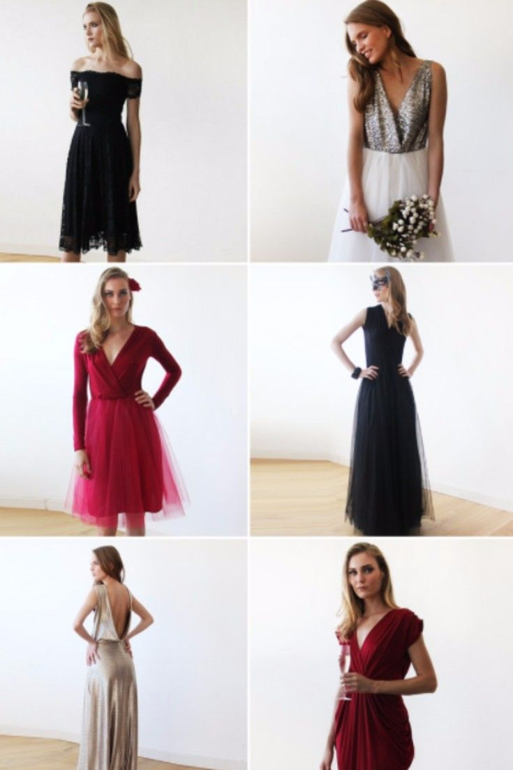 Holiday party dresses, Christmas dresses, New Year\'s Eve dresses at ...