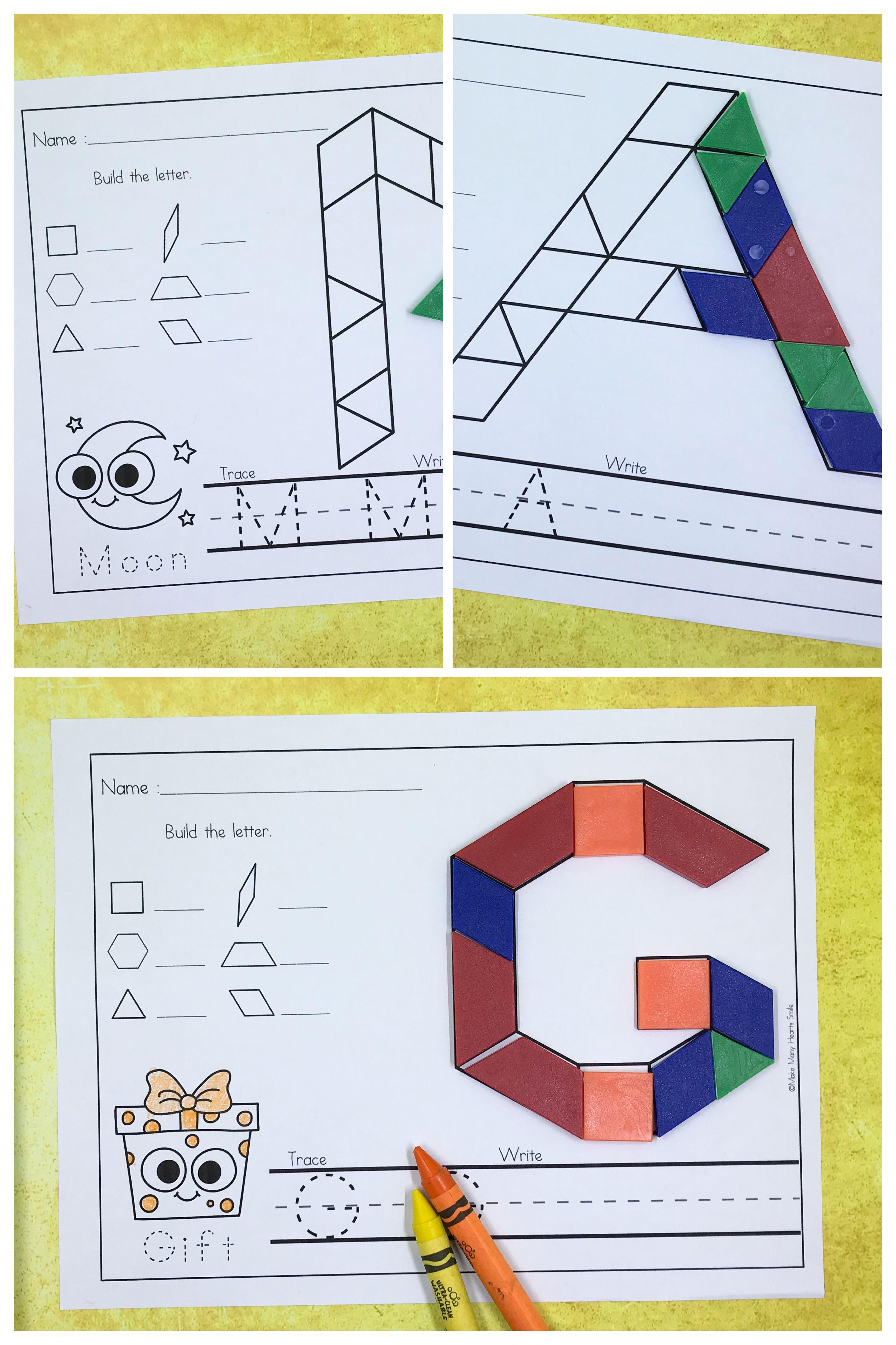 Pattern Blocks Uppercase Letters Mmhs25