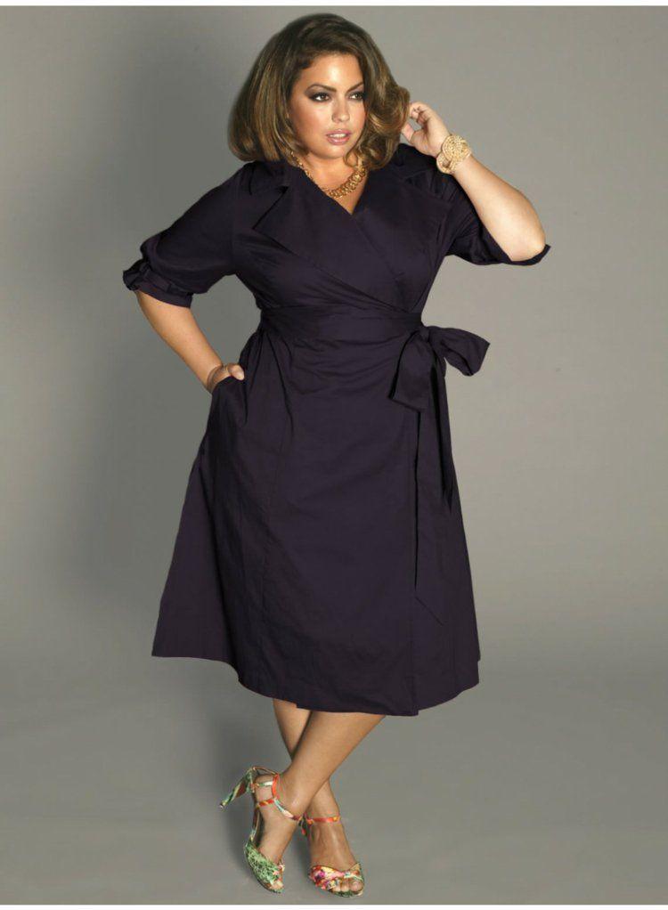 Kleider in großen Größen: elegante Mode für kurvige Damen | платья ...