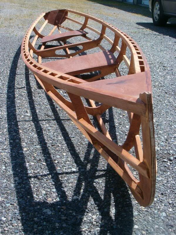 Dave Gentry SOF sliding seat rowing wherry project ...