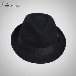 d87273770033d Classic Wool Felt Hat Wholesale Men Women Fedora Hat FM046001 ...