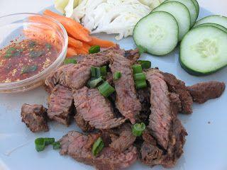 Modern Thai Food Tiger Cry Thai Recipes Food Laos Food