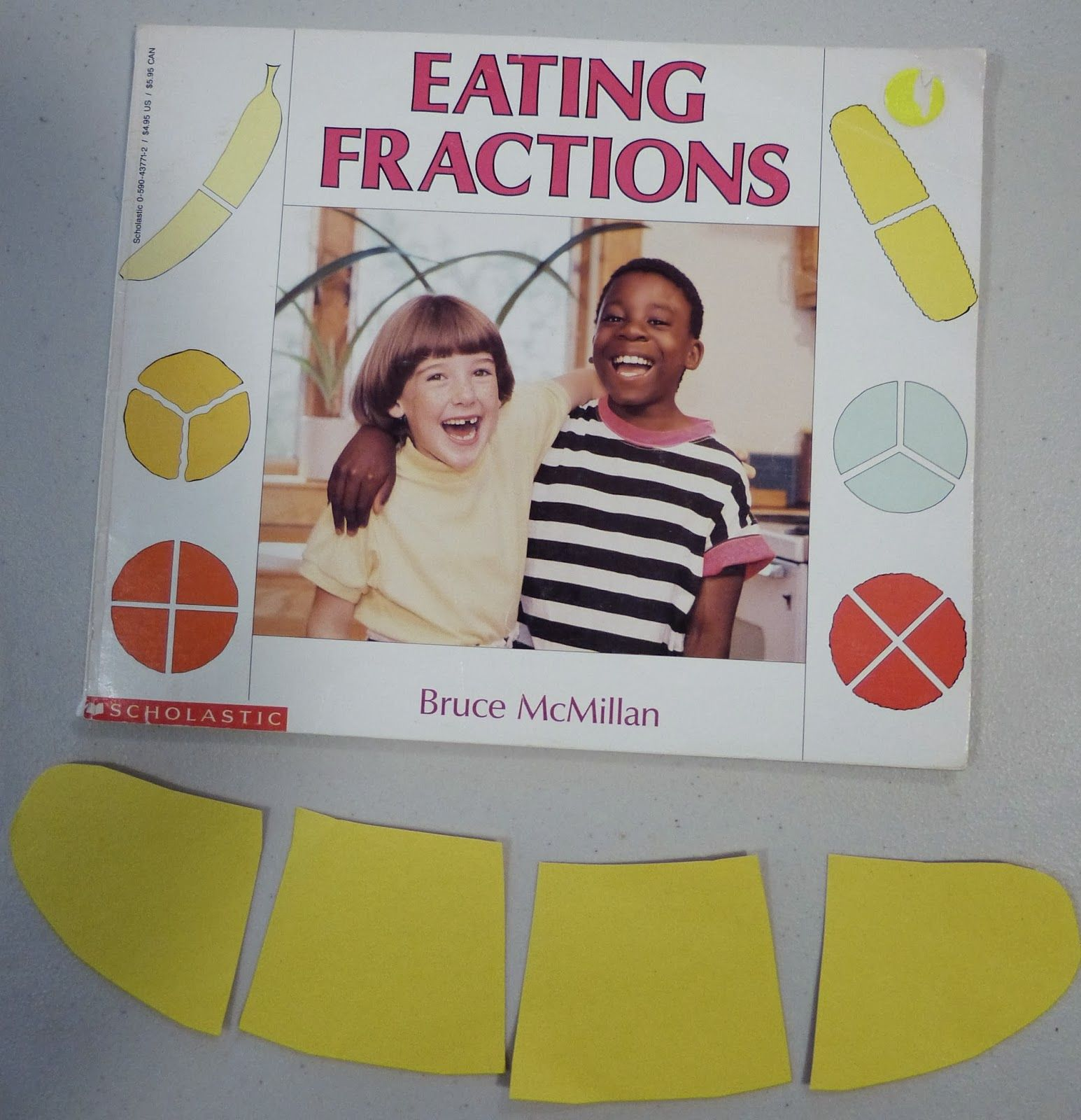 Paula S Preschool And Kindergarten Fraction Snack Quarters