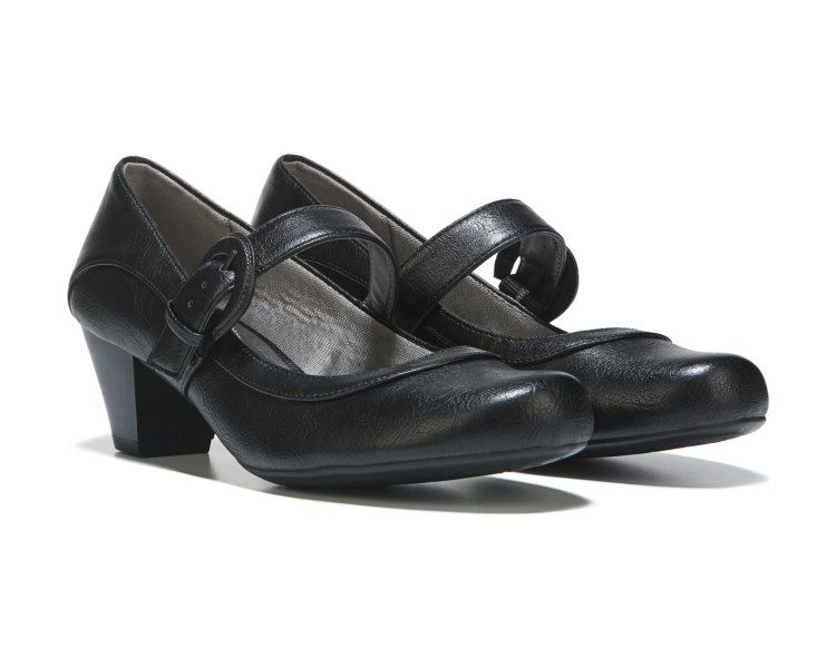 3b45c3e85f7 Women s Clarks Emslie Lulin Mary Jane - Black Full Grain Leather Mary Janes  in 2019