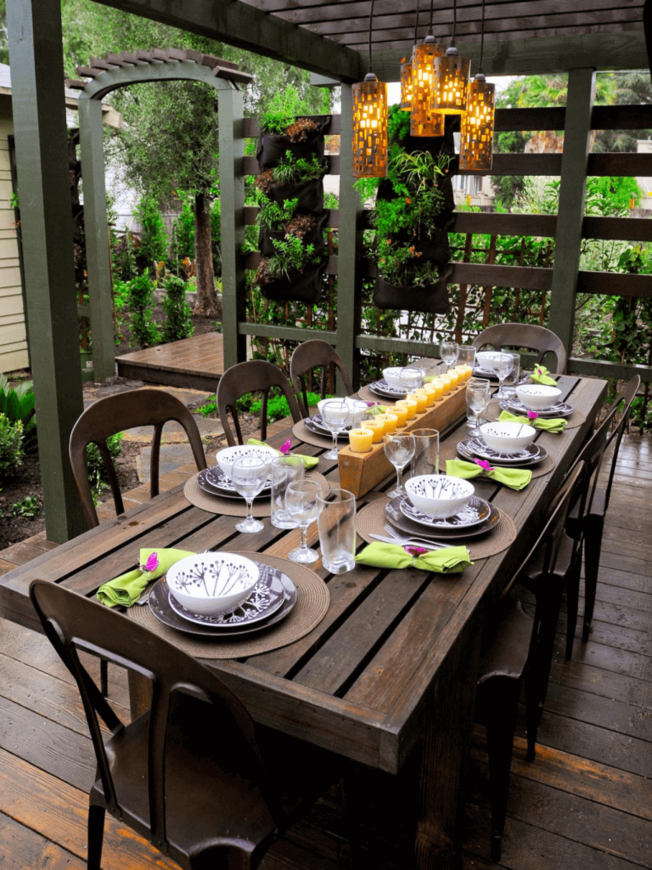 Spring Outdoor Table Ideas Hallstrom Home Outdoor Table Centerpieces Summer Outdoor Party Decorations Outdoor Dinner Party Decorations