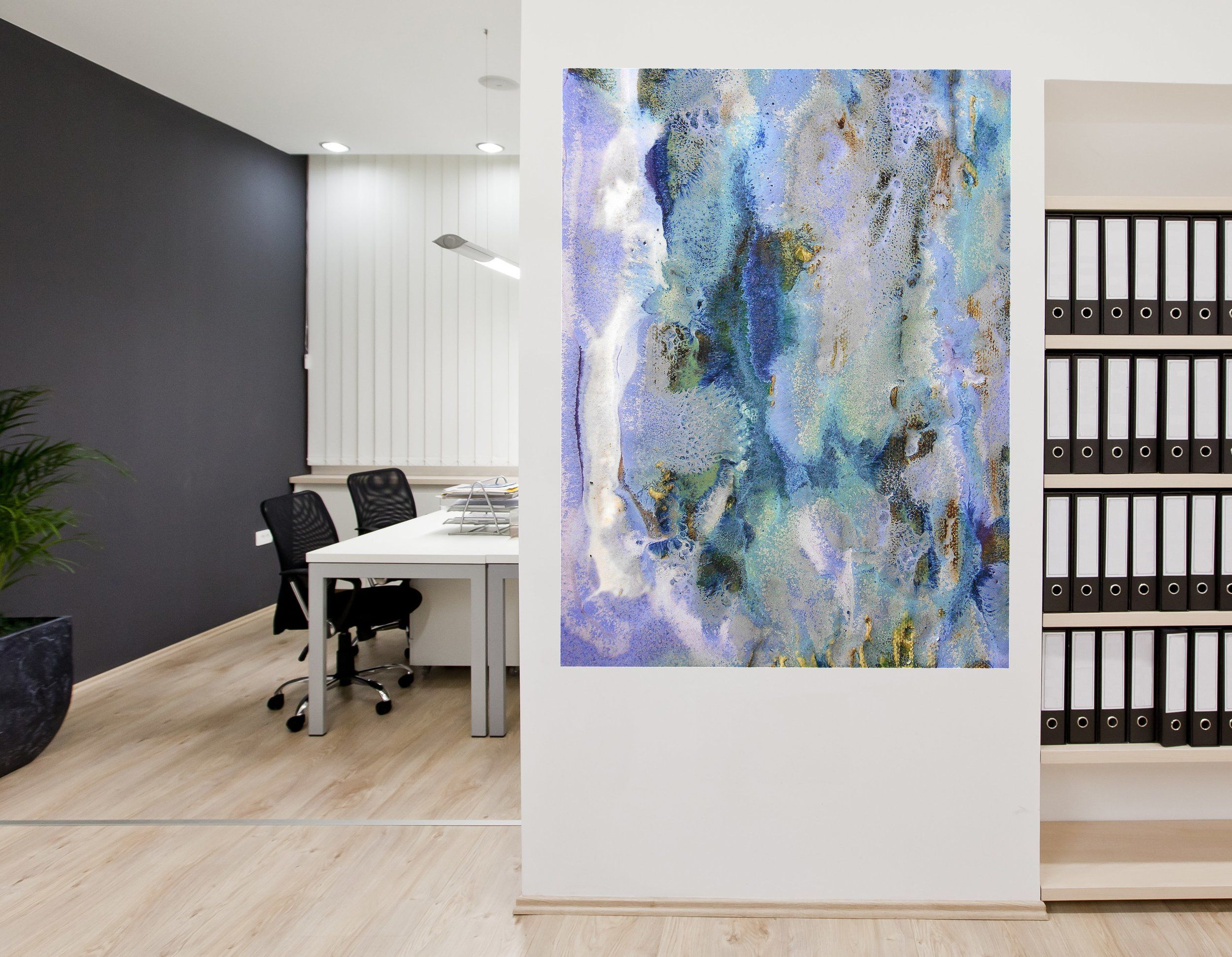 How to Make your fice Beautiful with Abstract Canvas Artwork