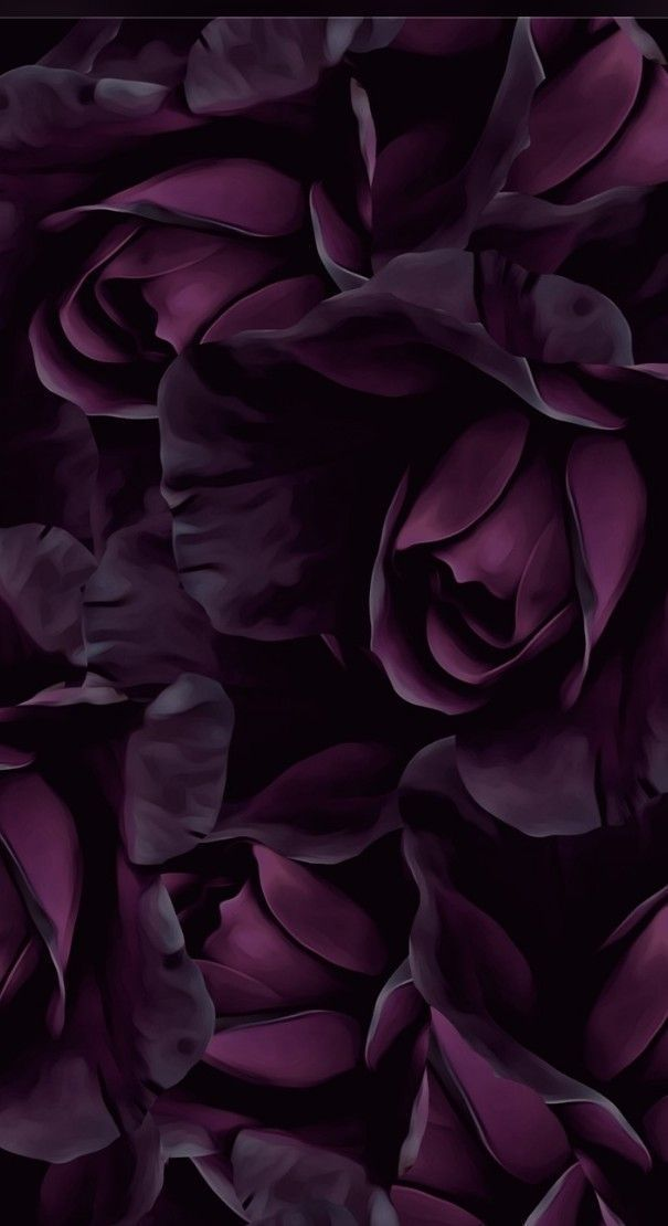 Purple flowers wall covering paper flowers back wall - Gladys