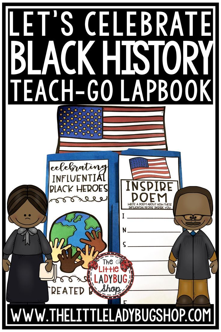 Black History Month Activities Biography & Black History