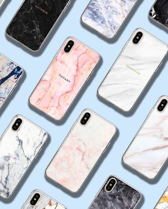 Custom Marble Iphone Xs Max Case Personalized Iphone 8 Plus Case