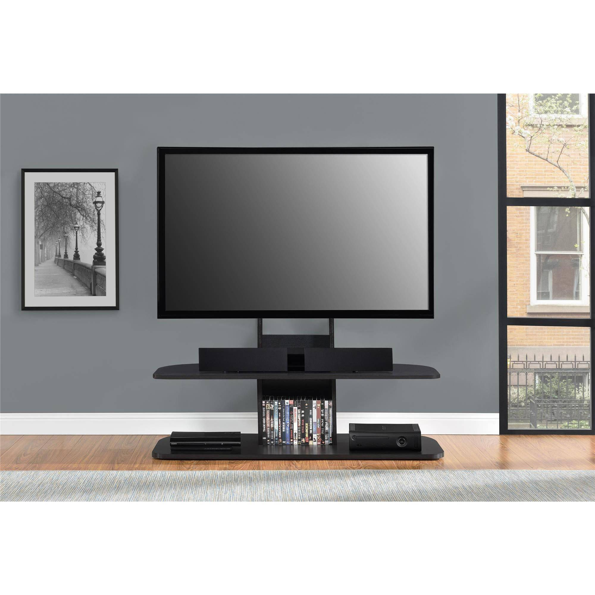 """Altra Galaxy XL TV Stand with Mount for TVs up 65"""" Multiple Colors"""