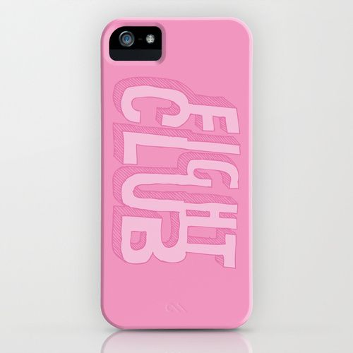 Fight Club iPhone 5 Case. By Oyl Miller. Available on Society6.