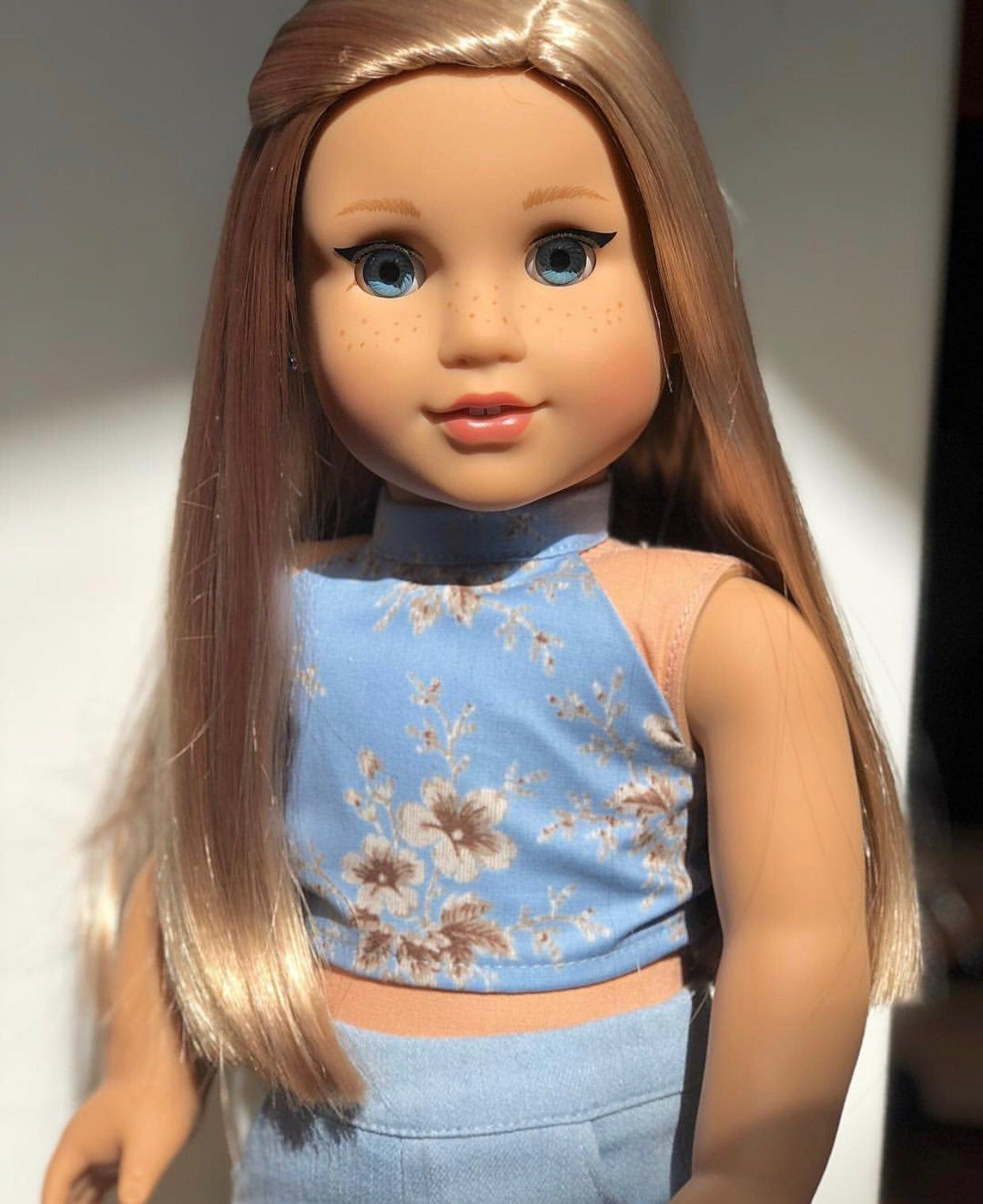 American girl doll Grace with Isabelle wig Custom. Only