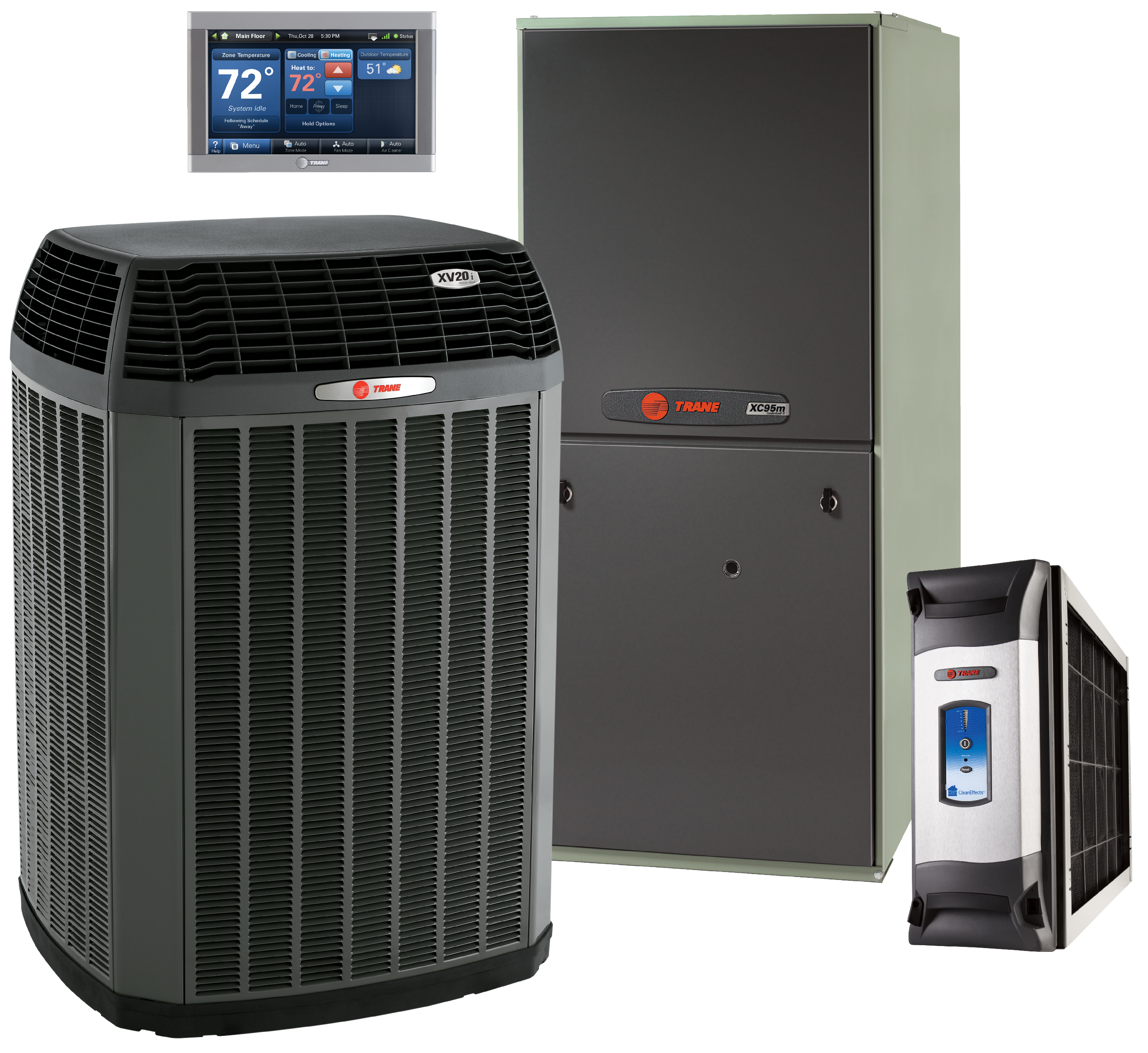 Trane Equipment Heating And Cooling Air Conditioning
