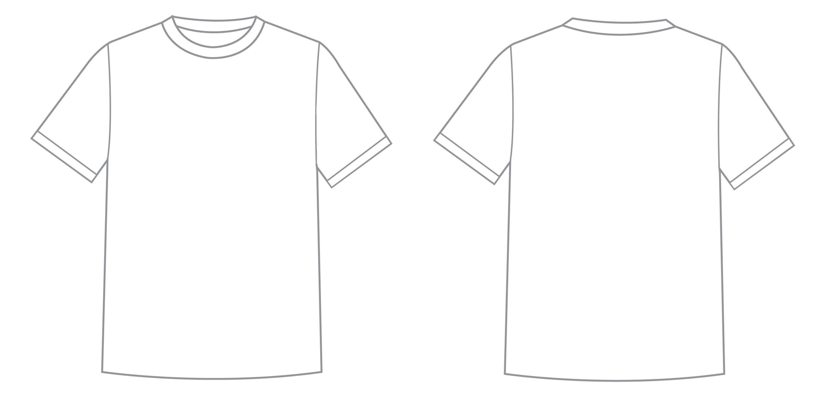 17 Printable T Shirt Template Portray Ideastocker T Shirt Design Template Shirt Template Clothing Templates