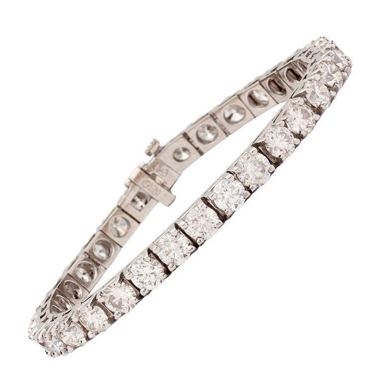 16 Carat Diamond Tennis Bracelet Tennis Bracelet Diamond Tennis Bracelet Amethyst Bracelet