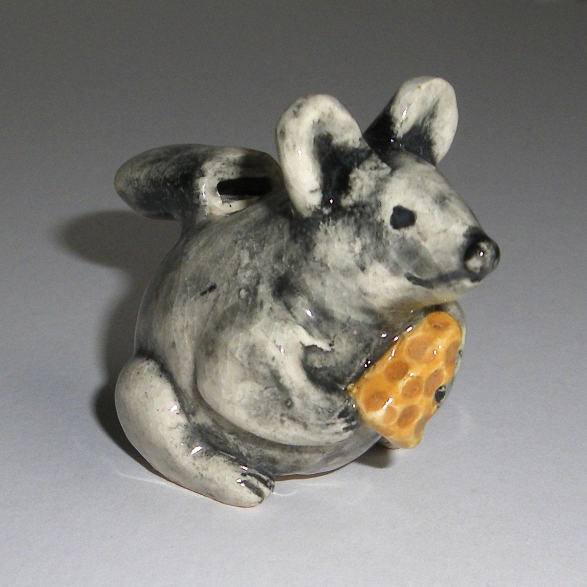 Mouse & Cheese Clay Whistle by WhistleWoman on Etsy