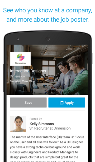 LinkedIn Job Search for Android app free download