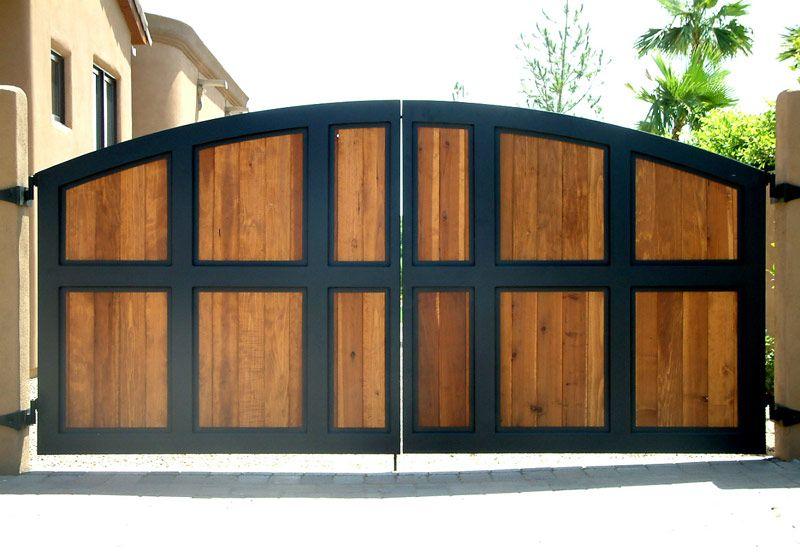 Iron Gates Wrought Iron Gates Driveway Gates Minimalis Rumah Jendela