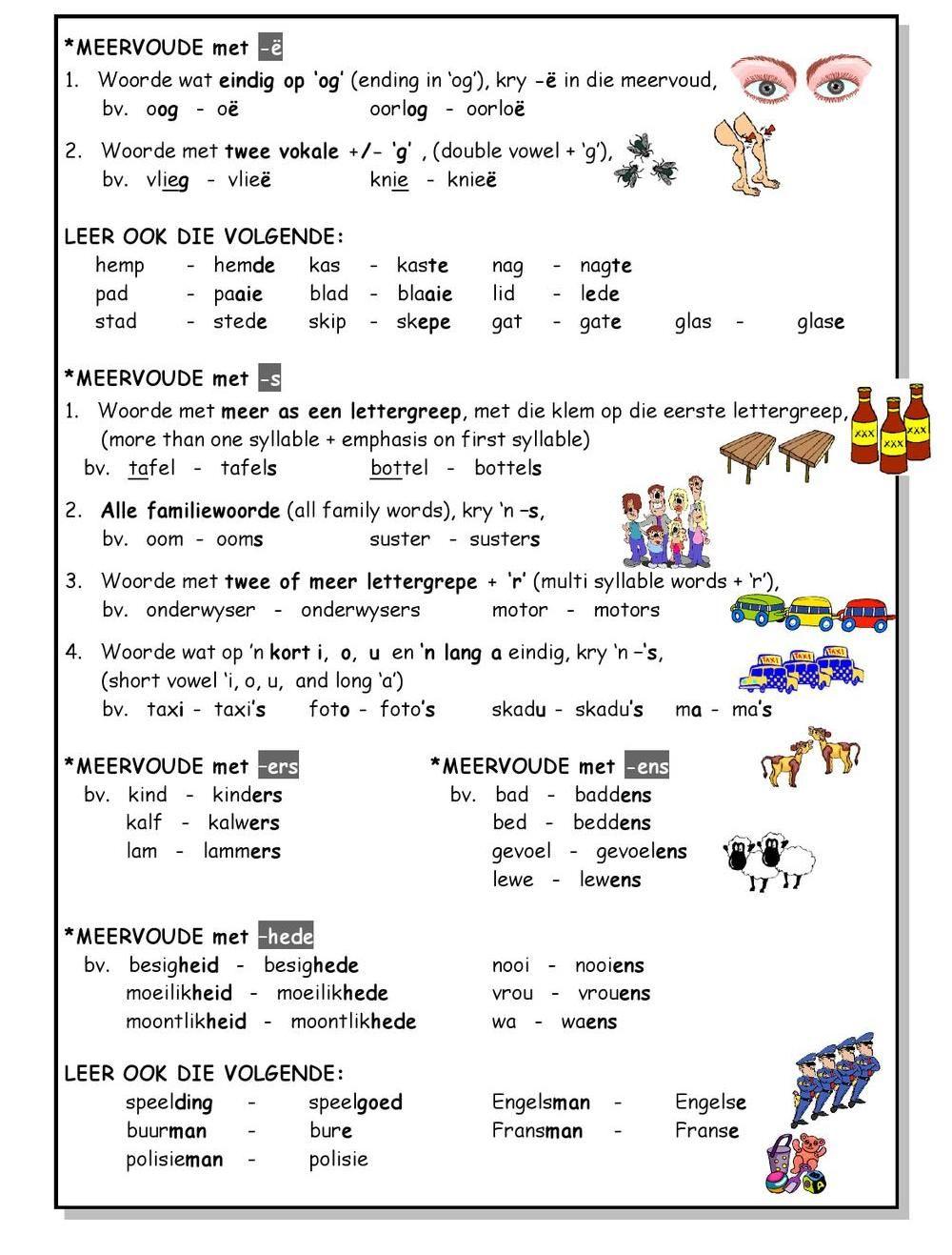 SkerpmakerB3 Afrikaans language, Rhyming words, Gr3 math