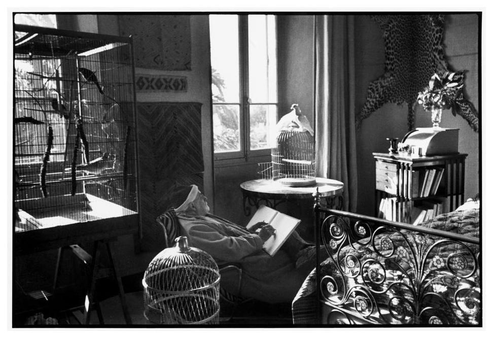 Henri Matisse At His Home Villa Le Reve Vence Alpes Maritimes France 1944 Photo By Henri Cartier Bresso Henri Matisse Henri Cartier Bresson Matisse