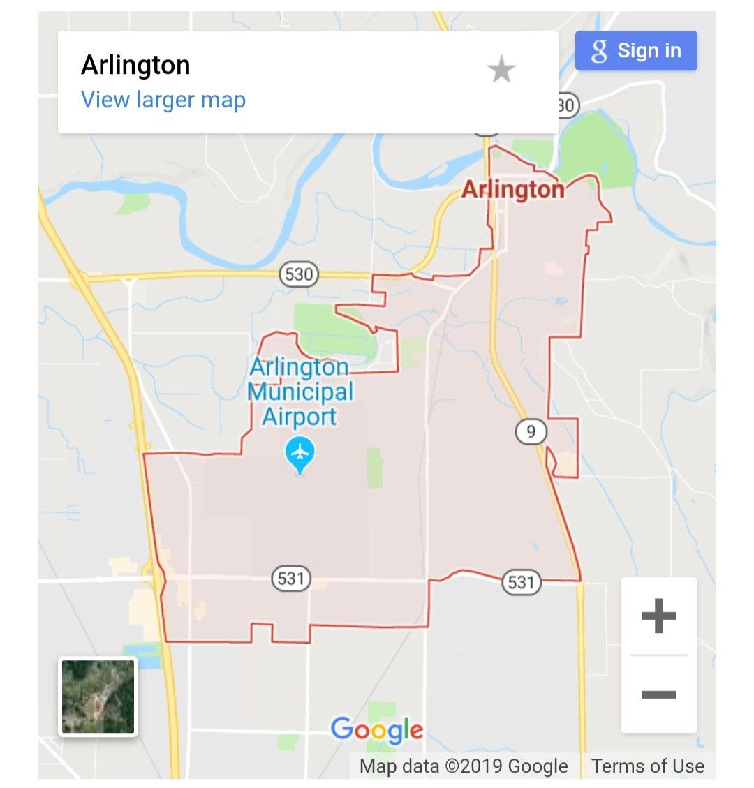 Maps of Arlington Washington USA. Get the mapquest driving ...