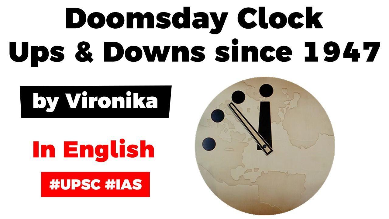 Doomsday Clock 100 Seconds From Midnight Burning Issues Free Pdf Download Doomsday Clock Clock Doomsday