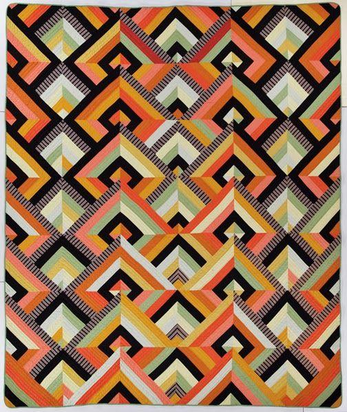Historically Modern: Quilts, Textiles & Design: Art Deco Thirty ... : art deco quilt - Adamdwight.com