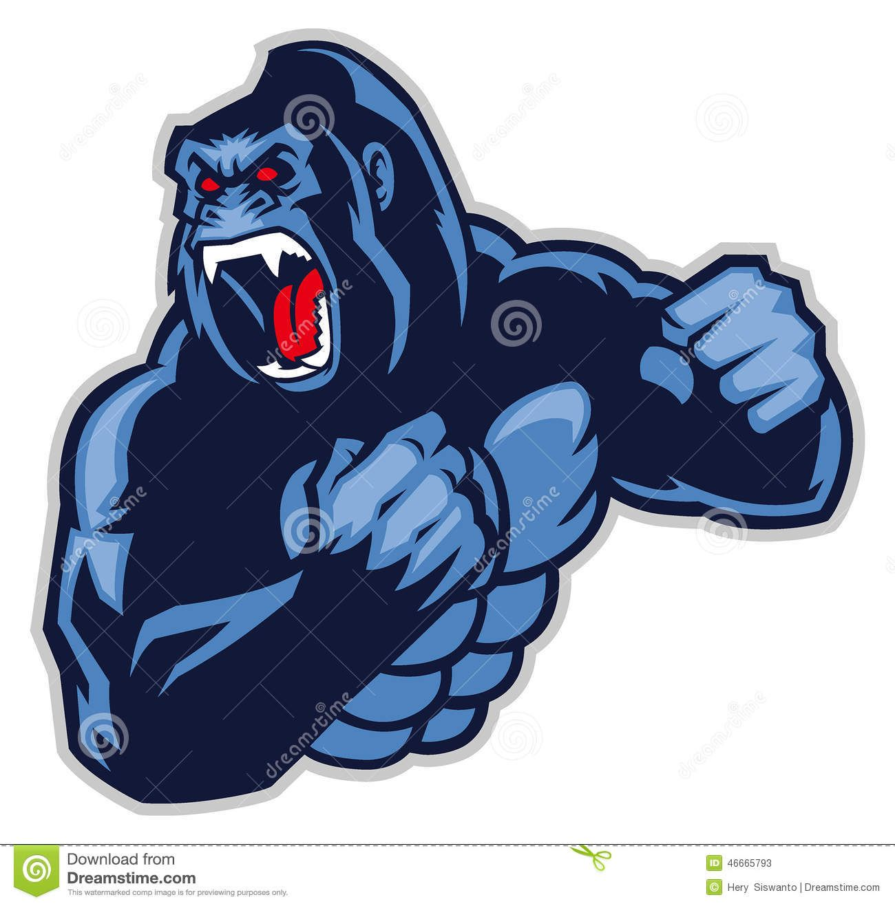 Angry Big Gorilla Download From Over 56 Million High Quality