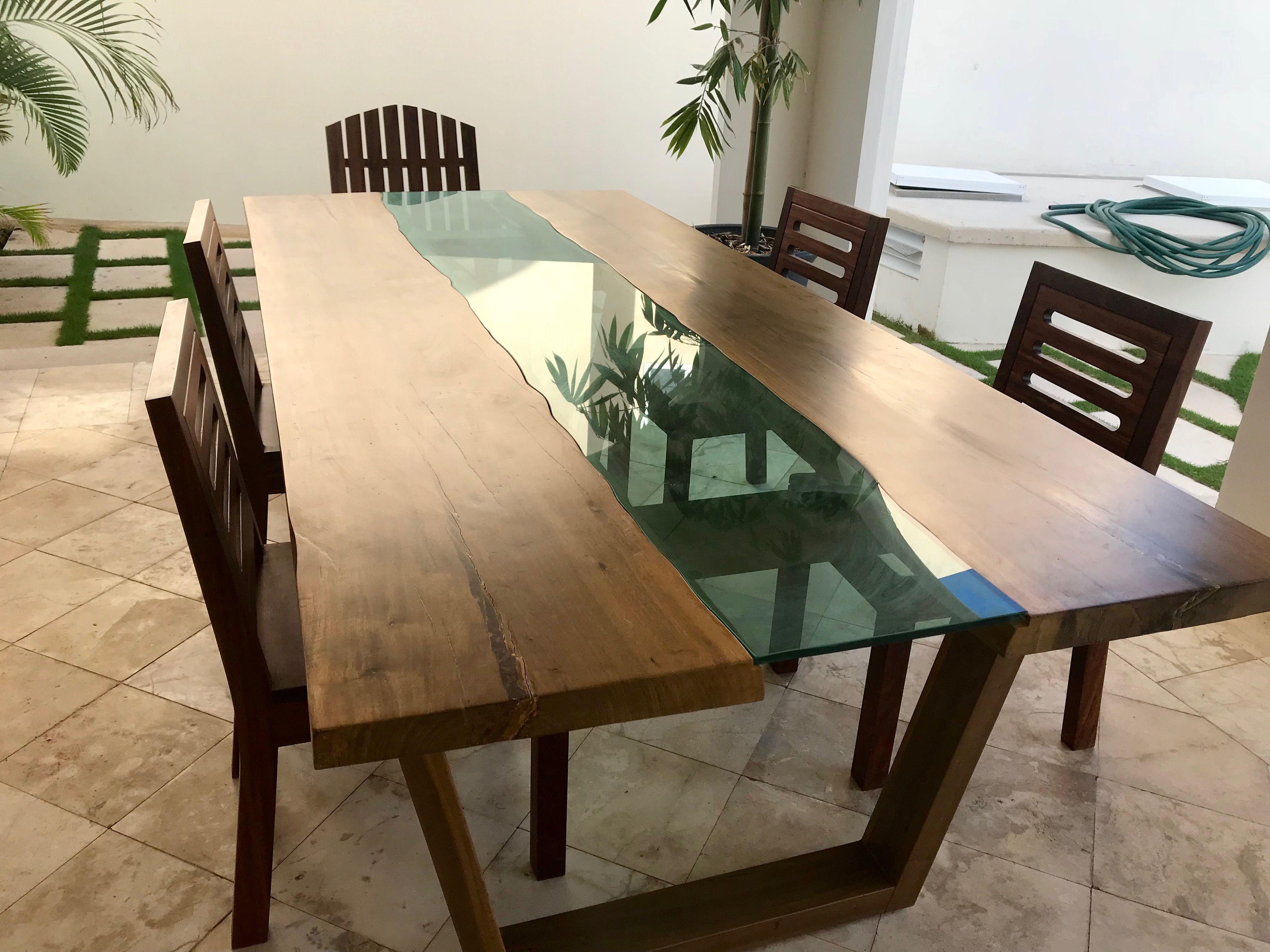 Diy Metal Furniture Wood Furniture, Furniture Design, Modern Dinner Table,